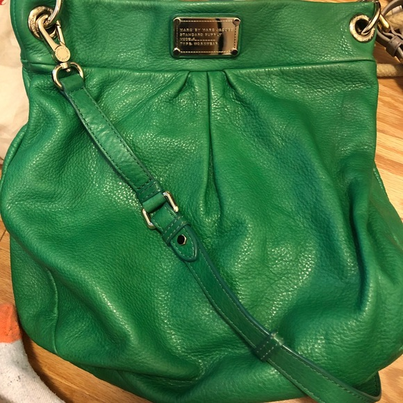 Marc By Marc Jacobs Handbags - Marc by Marc Jacobs green leather bag
